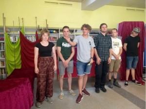Projektübergabe Berufsfachschule Holztechnik am 24.07.2019